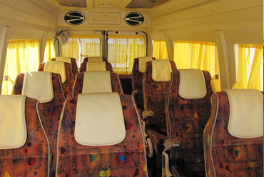 Rent 9 Seater Tempo Traveller